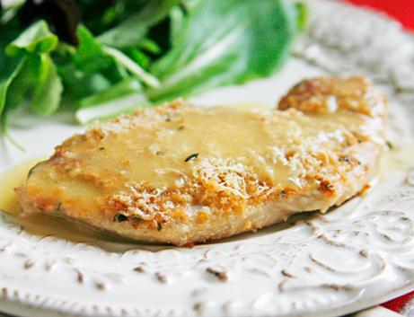Sznycelki indycze z szynką i mozzarellą