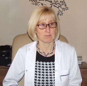 Dietetyk Agnieszka Kościowska w gabinecie